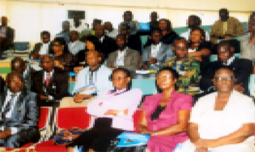 Cross-section of particiapants at the 2nd International Conference on Flood and Erosion Prevention, Protection and Mitigation, organised by Rivers State University of Science and Technology, Port Harcourt.