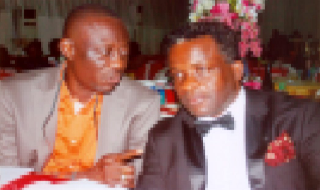 President, PHCCIMA, Engr. Emeka Unachukwu (Right) with former PHCCIMA president  FOSSCIMA president; Prince Billy Gillis Harry (Left) during the Christmas carol  end of year party @ Event place recently. Pix Egberi .A. Sampson