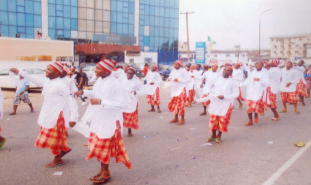 Local Government participation at the just concluded Rivers State Carnival in Port Harcourt. Photo: Obinna Prince