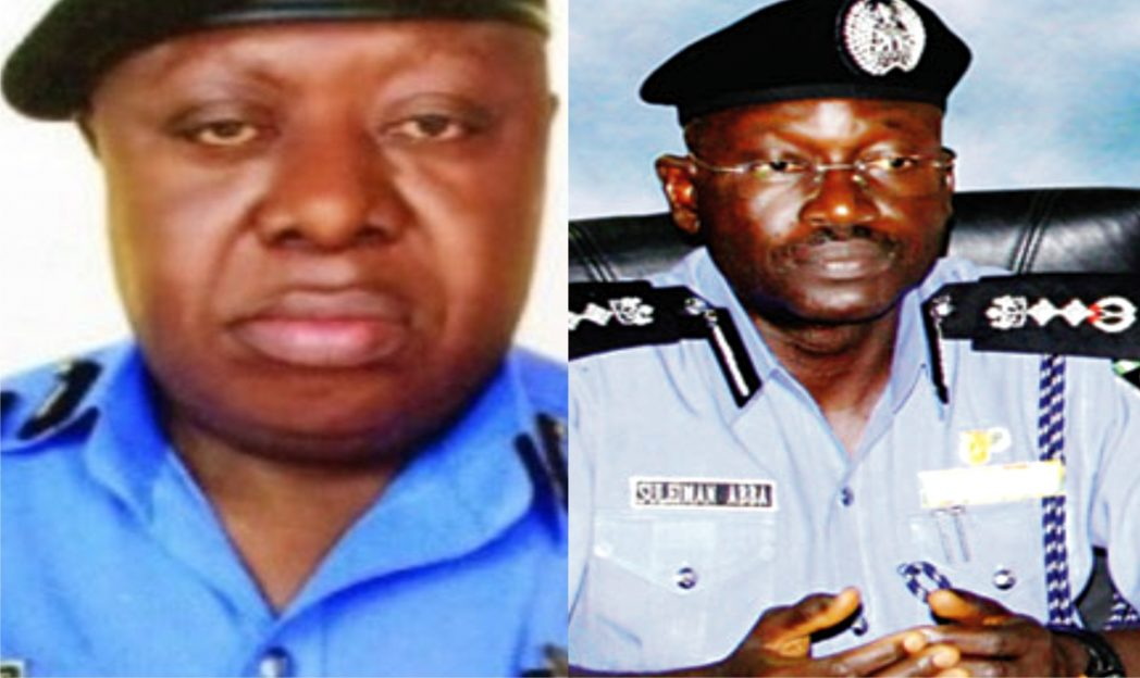 Tunde Bature, Rivers State CP and Suleman Abba, IGP