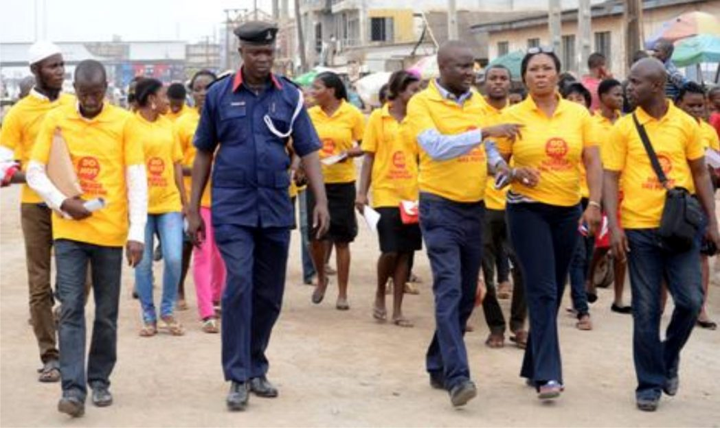 NSCDC, NGOs and SPDC officials on road show to sensitise Nigerians on dangers of encroachment on gas pipeline right of way