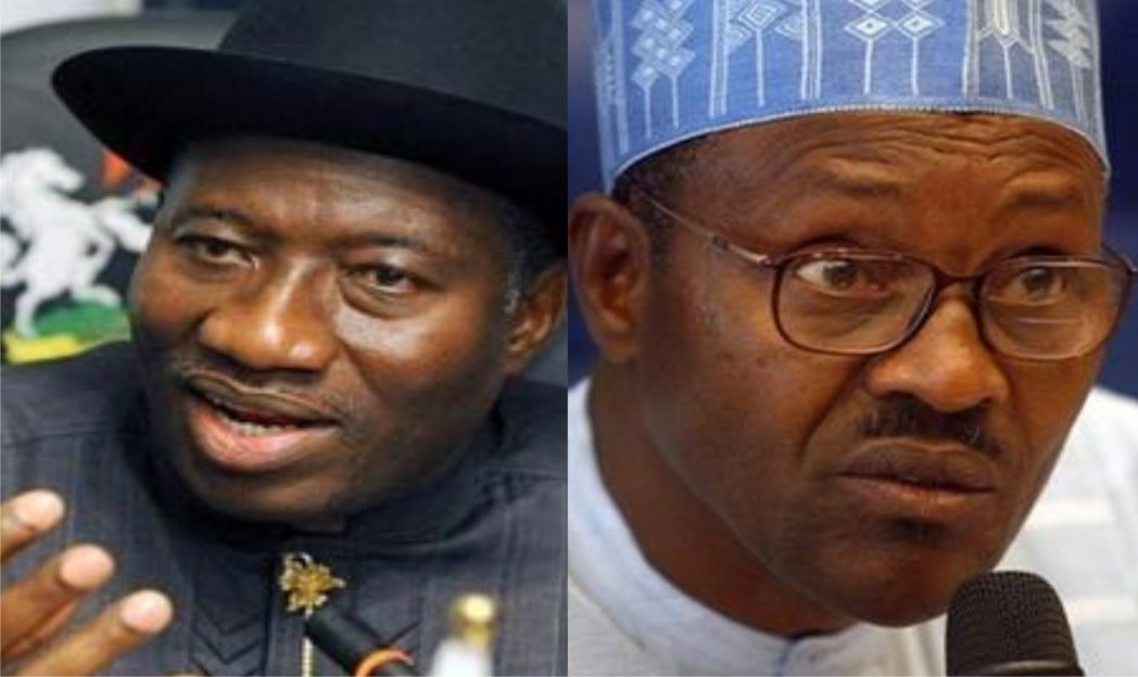 President Jonathan and Gen Buhari