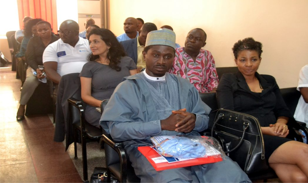 Cross section of participants during the press conference organised by Search for Common Ground, Tomorrow Is A New Day, Phase II in Port Harcourt, recently.         Photo: Nwiueh Donatus Ken