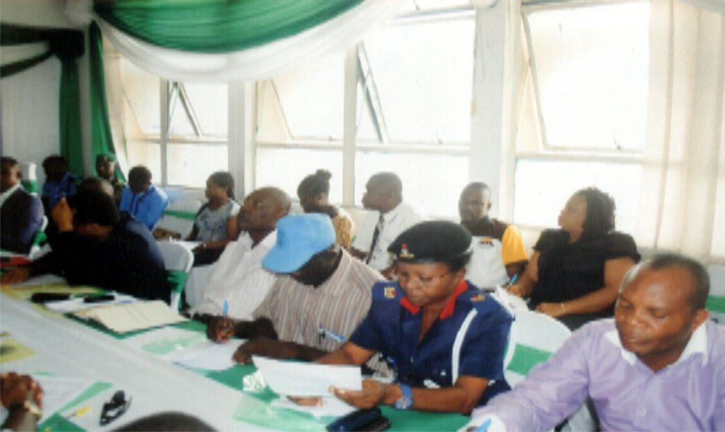 Cross section of participants at the 14th NOA, Rivers State Roundtable at NOA Conference Room, Port Harcourt recently                       Photo: Prince Obinna Dele