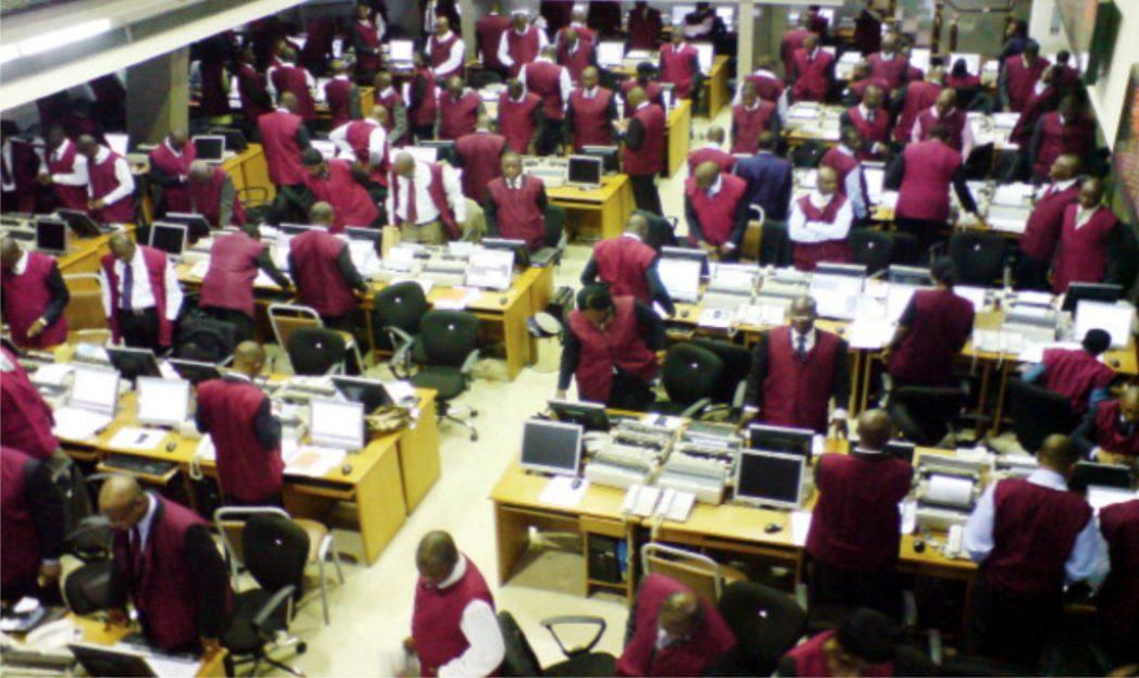 Trading floor of Nigerian Stock Exchange (NSE)