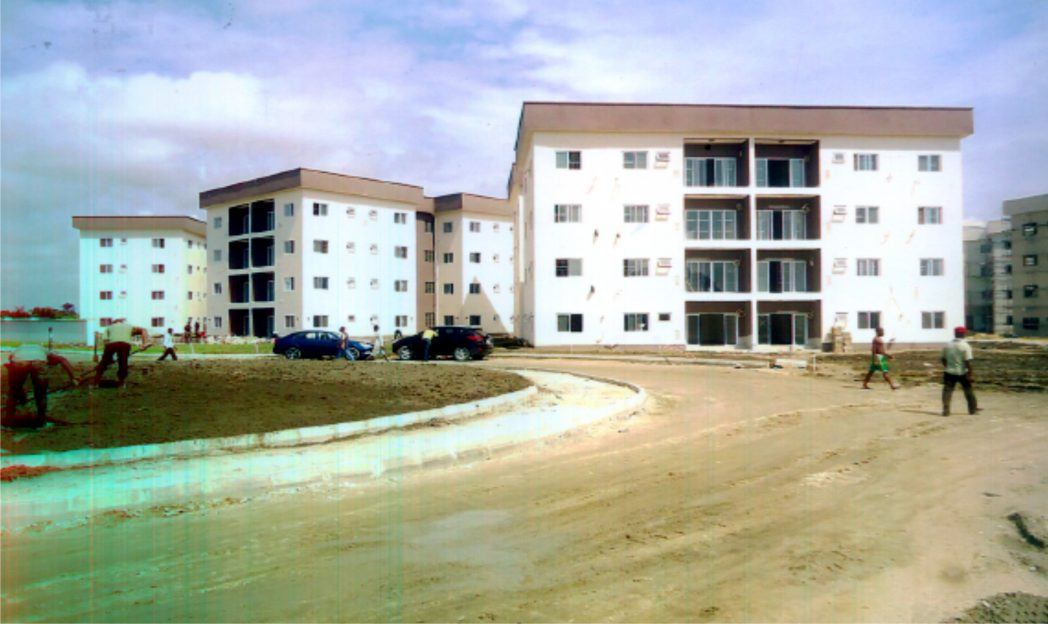 Ist phase of Rivers State Golf Estate nearing completion at Peter Odili Road, Port Harcourt.
