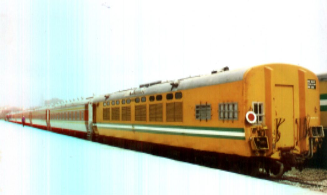 Train ready for transport after official commissioning at Port Harcourt, recently.