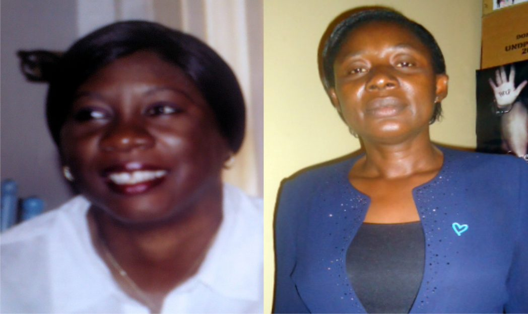 Barr. Ifeoma Katchy (Anambra FIDA) and Okoye Hope Nkiruka (Intercom Africa)