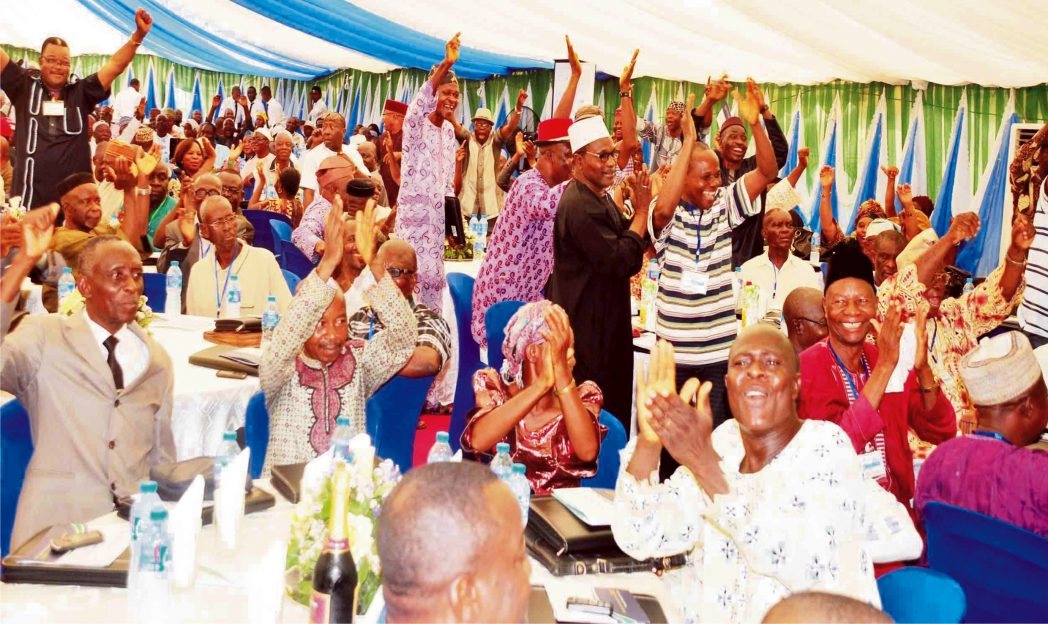 Pensioners at the Pension Transitional Arrangement Directorate Stakeholders Forum in Abuja last Thursday.