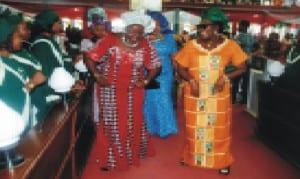 Women dancing at a public function in Port Harcorut. Photo: Prince Dele Obinna