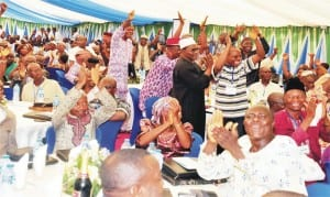 Pensioners at the Pension Transitional Arrangement Directorate Stakeholders Forum in Abuja recently.