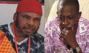 Pete Edochie and Nkem Owoh (Osuofia)