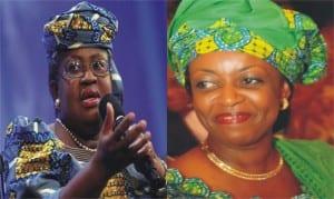 Ngozi Okonjo-Iweala, Minister of Finance and Diezani Allison-Madueke, Minister of Petroleum Resources