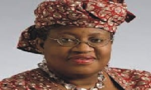 Minister of Finance and Co-ordinating  Minister for the Economy, Dr Ngozi Okonjo-Iweala.