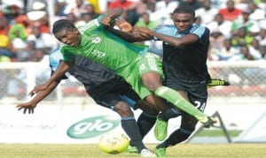 Flying Eagles' Taiwo Awoniyi (18) is expected to trouble defences at the 2015 FIFA World Youth Championships