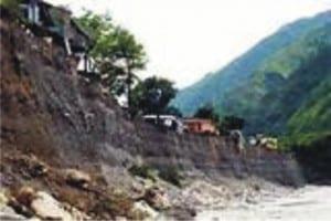 Erosion site in Niger Delta