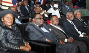 Cross section of  members  of  Senior Advocate of Nigeria (SAN), at the NBA's 55th General Conference  in Abuja recently.