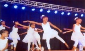 Kid dancers at  the Mona Dance School's dance Concert in Port Harcourt      Photo: Ibioye Diama