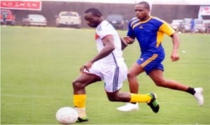 Grassroot football in action