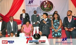 Participants at a Charity Concert organised by Rugged Steps Foundation at Hotel Presidential, Port Harcourt, rcently.