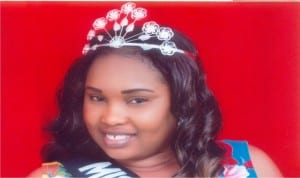 Queen Blessing, out-going Miss Eleme