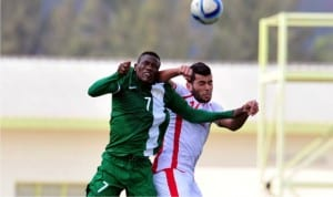 A Super Eagles against a Pharaoh in the recent 2017 AFCON qualifier between Nigeria and  Egypt. A  FIFA ban would be worse than the country's AFCON Failure.