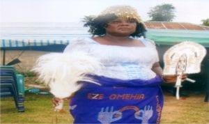 Lydia W. Ikunga Manjor, Eze Omehia Eli I of Evekwu Community, Emohua.