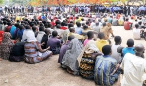 Suspected criminals paraded by Kaduna State Police Command, recently