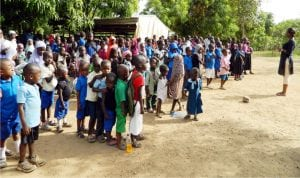 Nigerian children at a public event in Abuja. Violence and other social vices have rendered them vulnerable to abuse.