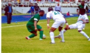 One of Super Eagles continental engagements