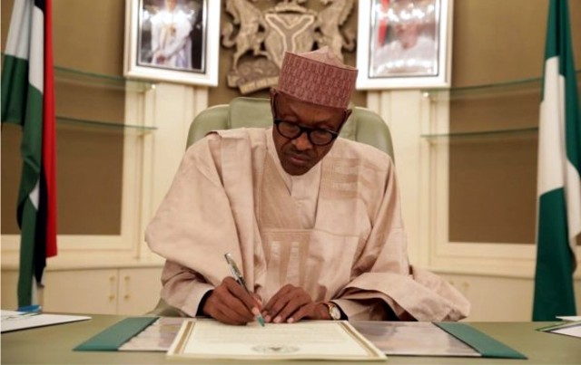 Buhari Back To Office, Meets AGF, NNPC GMD