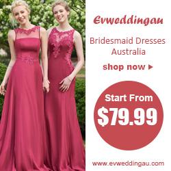Bridesmaid Dresses Australia at EvWeddingau.com