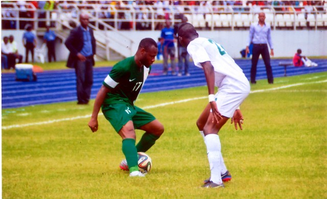 Nigeria's Super Eagles defeat Benin 2 - 1 to qualify for CHAN