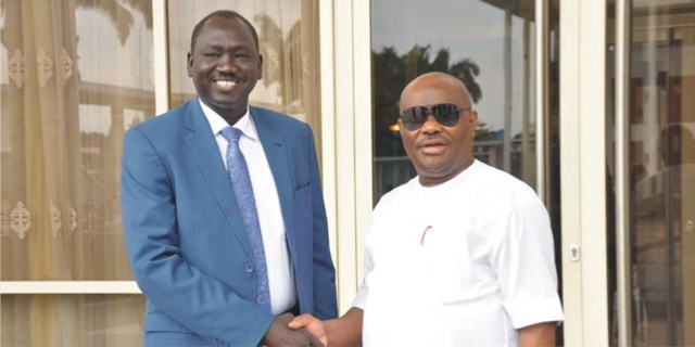 South Sudan Endorses Wike For 2nd Term     As Gov Says