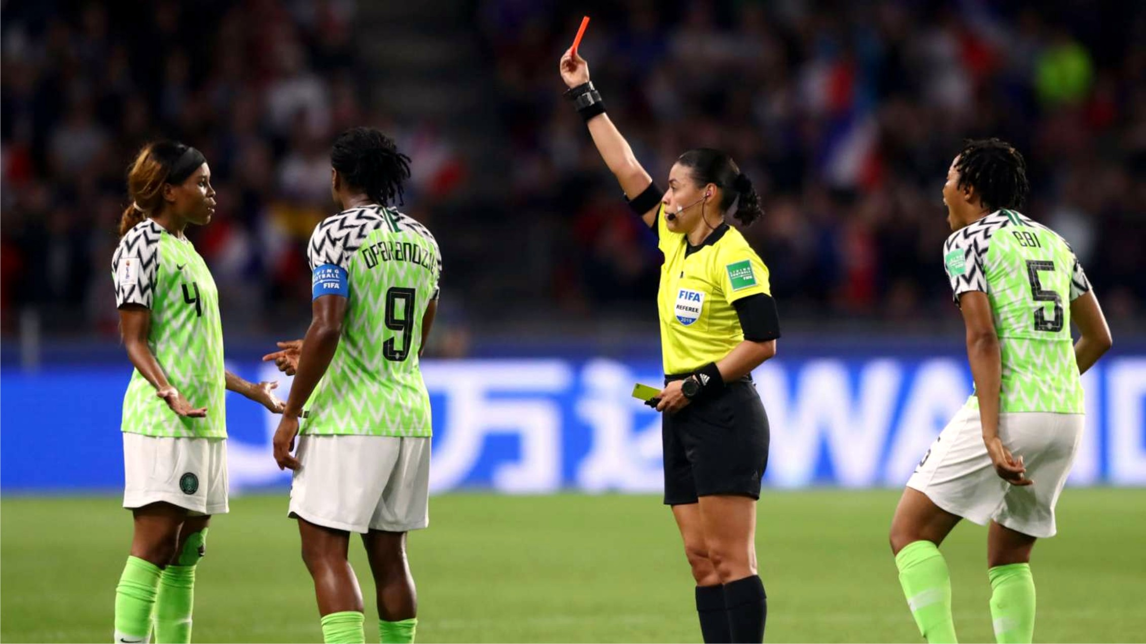 Women's W/Cup: Nigeria Equals Unwanted Record