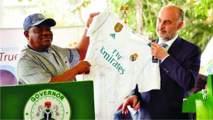 RSG  Unveils Real Madrid FC Football Academy