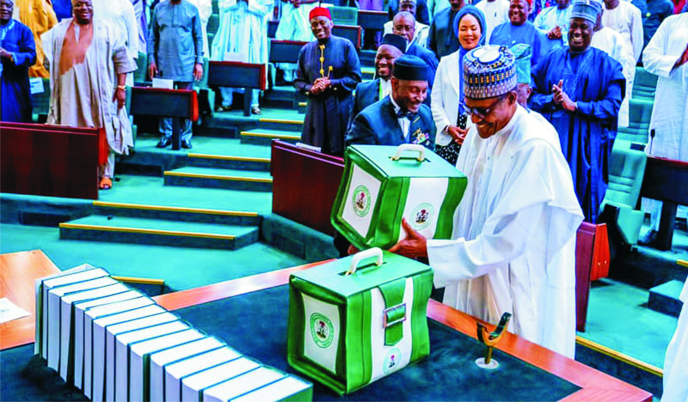 Image result for House of Reps passes 2020 Budget for second reading