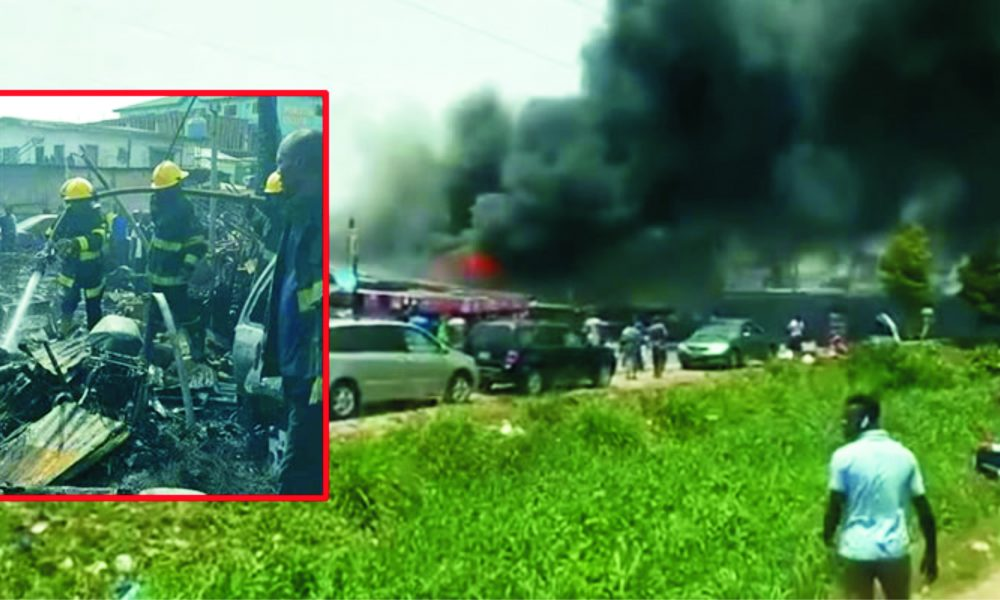 Lagos Pipeline Fires Claim Five Lives, Raze 33 Vehicles, 15 Houses - The Tide